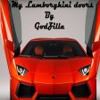 godzilla - my lamborghini doors